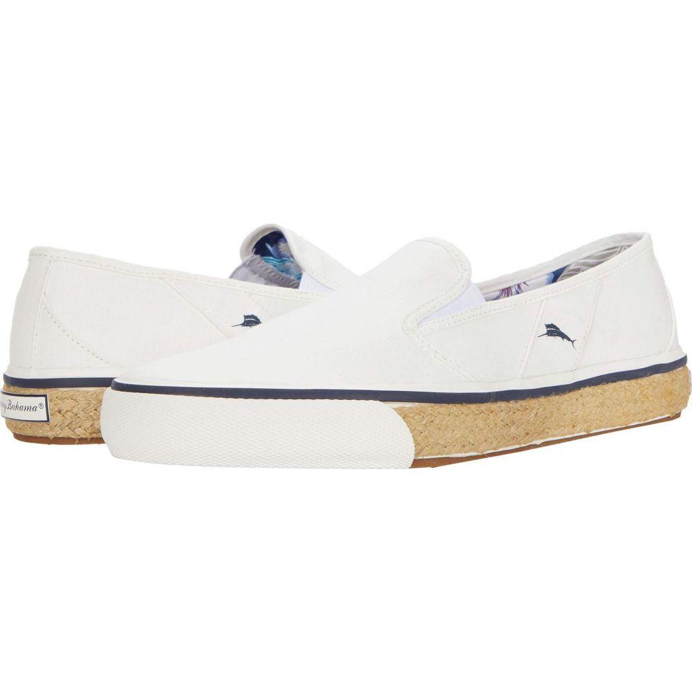 トミー バハマ Tommy Bahama メンズ スニーカー シューズ・靴【Pacific Palms】White Ripstop