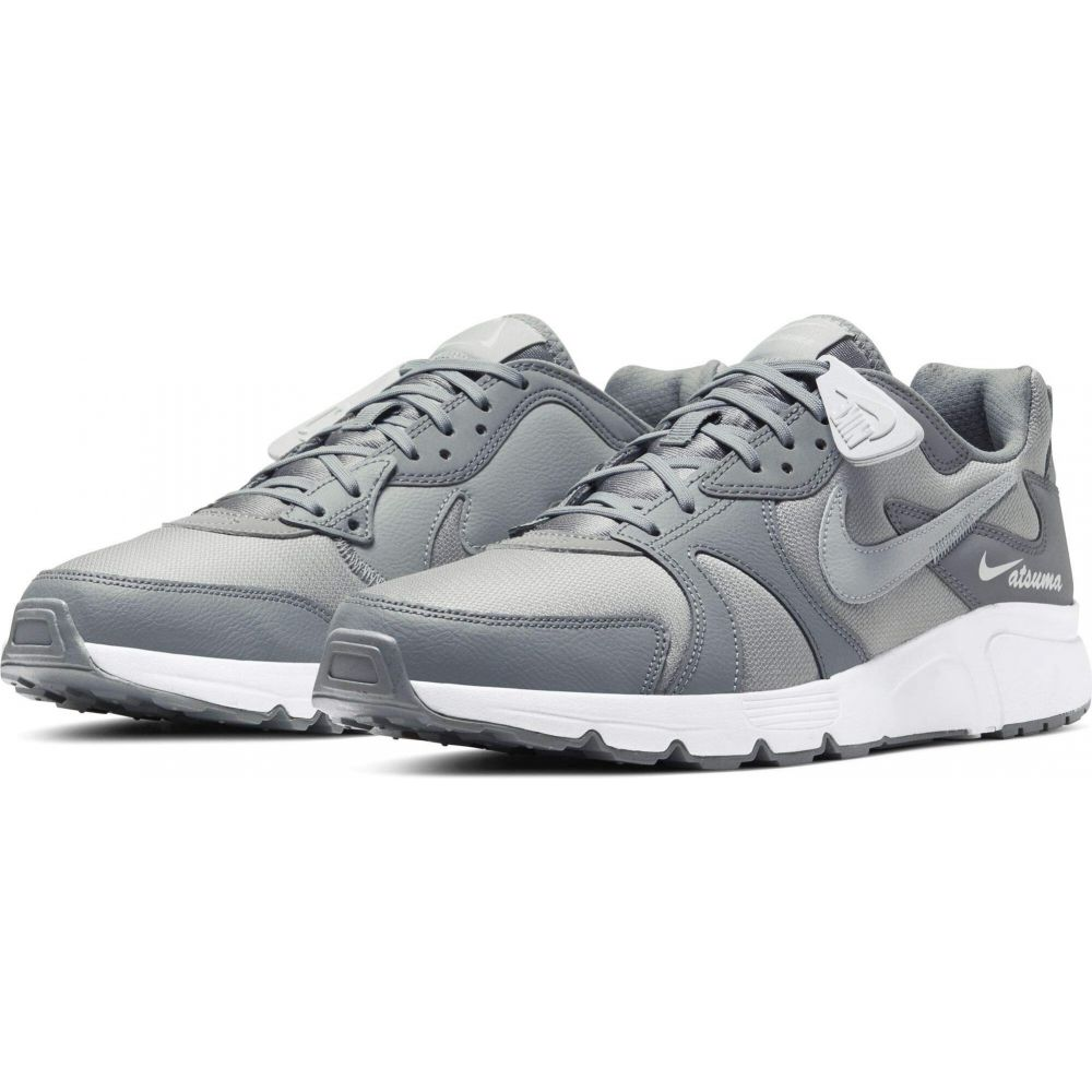ナイキ Nike メンズ スニーカー シューズ・靴【Atsuma】Particle Grey/Light Smoke Grey/White