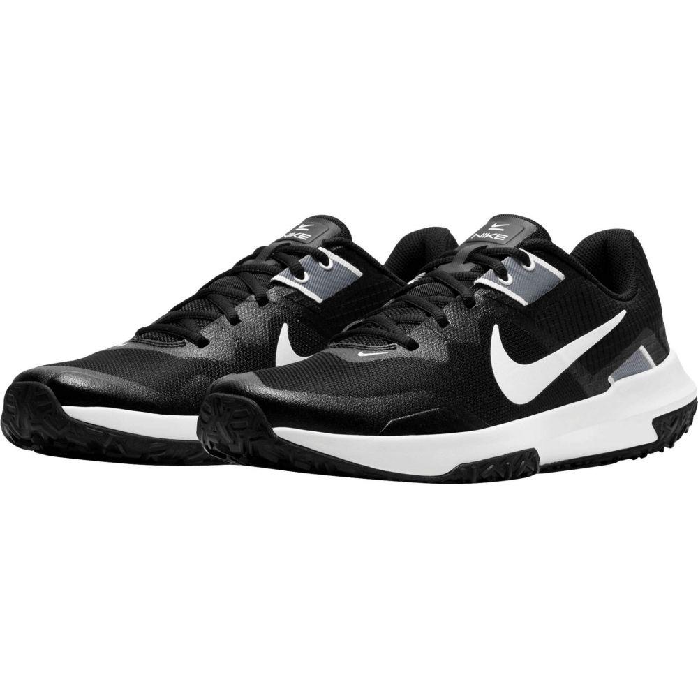 ナイキ Nike メンズ スニーカー シューズ・靴【Varsity Compete TR 3】Black/White/Smoke Grey