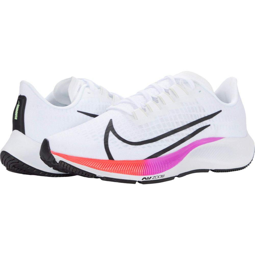 ナイキ Nike メンズ ランニング・ウォーキング エアズーム シューズ・靴【Air Zoom Pegasus 37】White/Flash Crimson/Hyper Violet