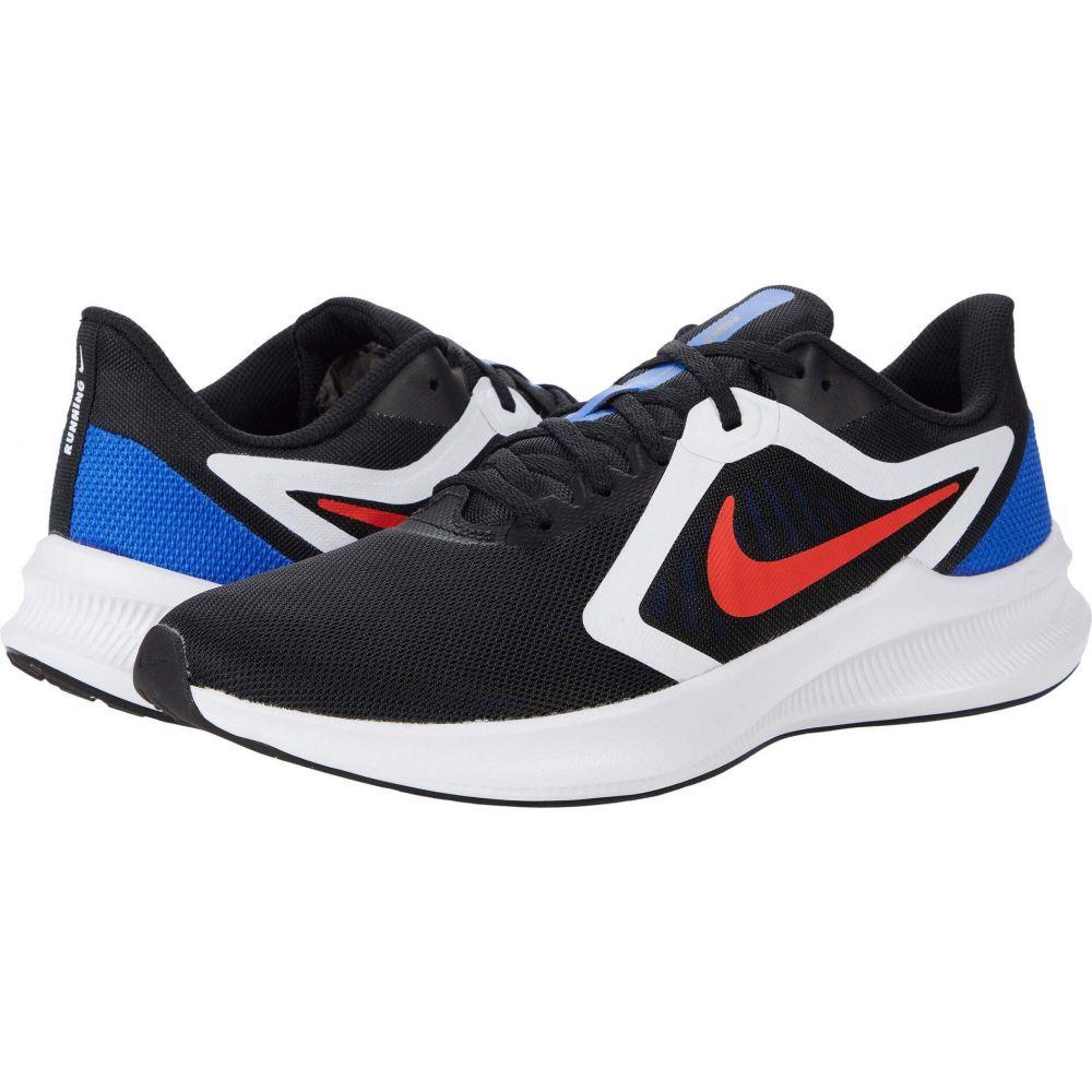 ナイキ Nike メンズ ランニング・ウォーキング シューズ・靴【Downshifter 10】Black/Chile Red/Racer Blue/White