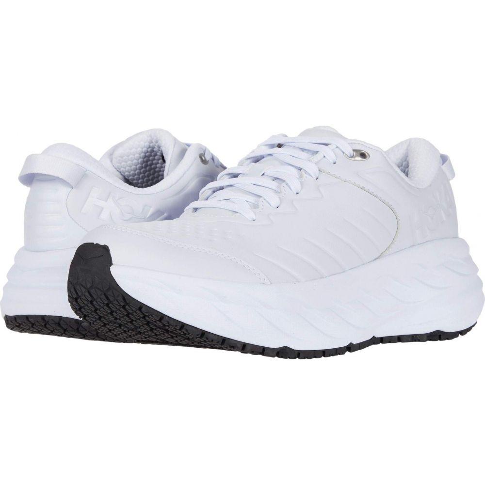 ホカ オネオネ Hoka One One メンズ ランニング・ウォーキング シューズ・靴【Bondi SR】White/White