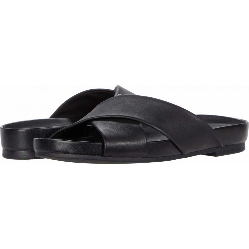 クラークス Clarks レディース サンダル・ミュール シューズ・靴【Pure Cross】Black Leather