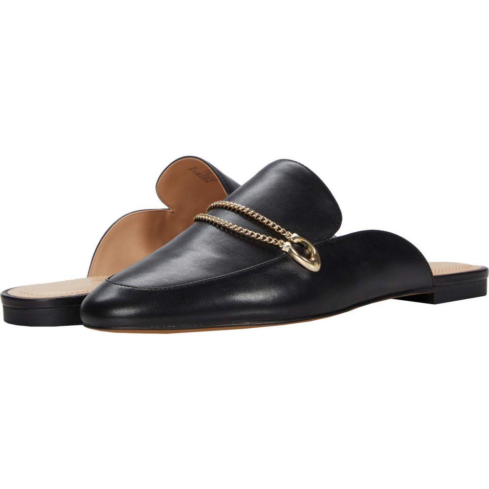 コーチ COACH レディース サンダル・ミュール シューズ・靴【Sawyer Leather Slide Loafer】Black