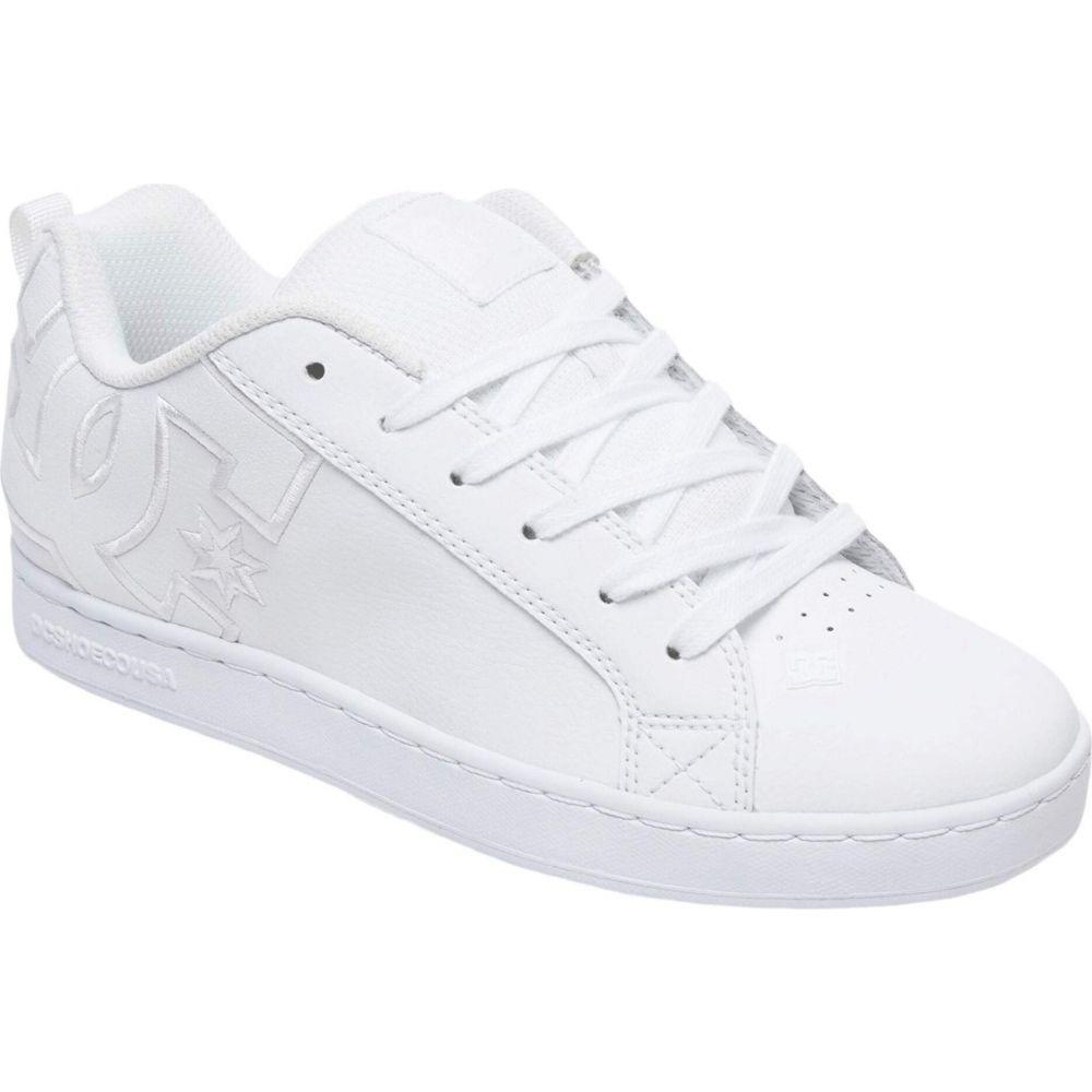 ディーシー DC レディース スニーカー シューズ・靴【Court Graffik W】White/White/White