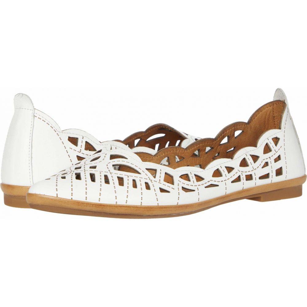 スプリングステップ Spring Step レディース スリッポン・フラット シューズ・靴【Perlita】White