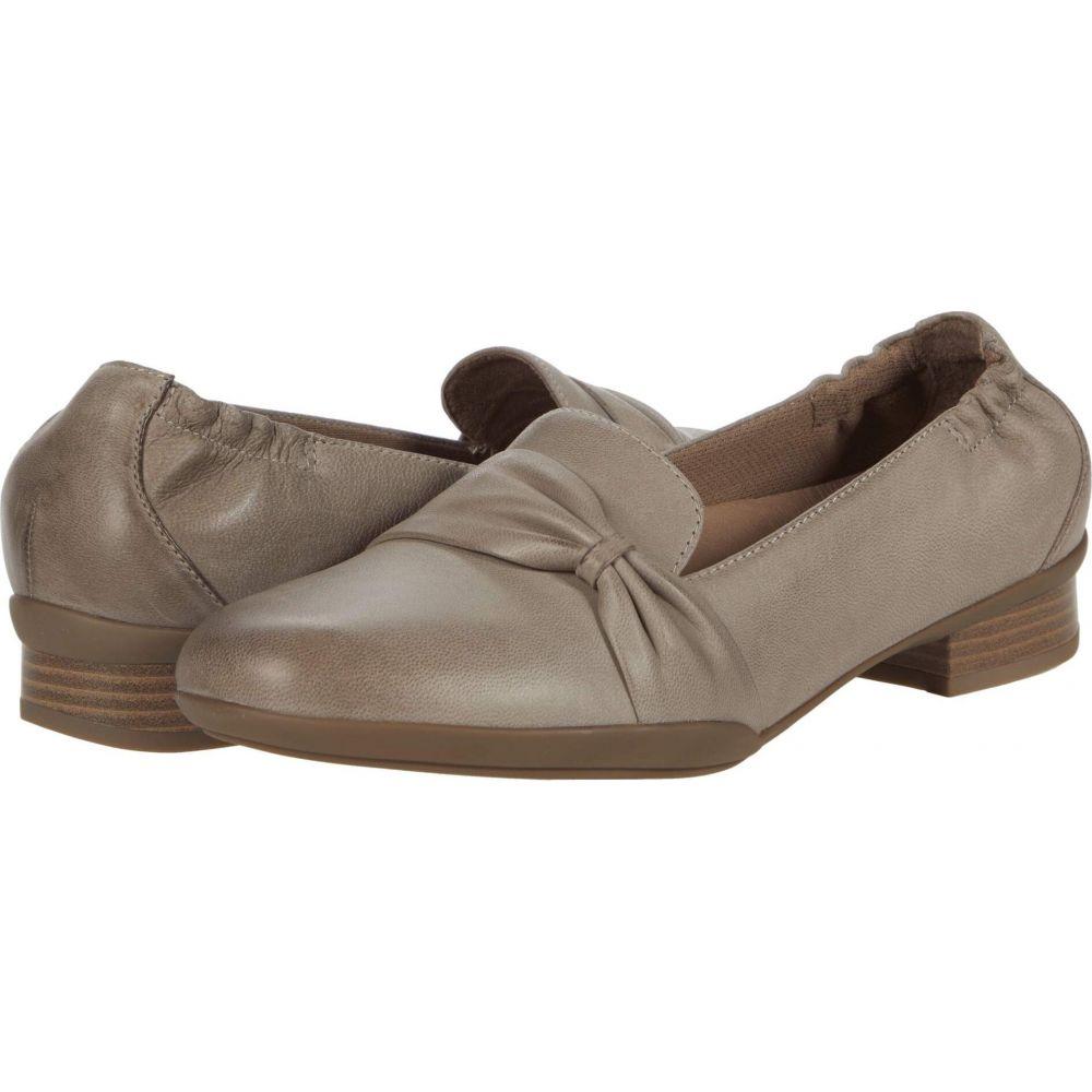 ダンスコ Dansko レディース ローファー・オックスフォード シューズ・靴【Karen】Taupe Burnished Nubuck
