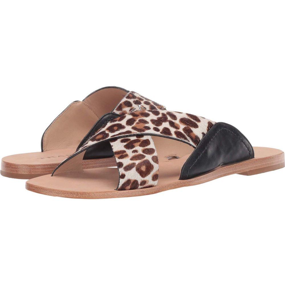 トラスク Trask レディース サンダル・ミュール シューズ・靴【Sandi】White Leopard