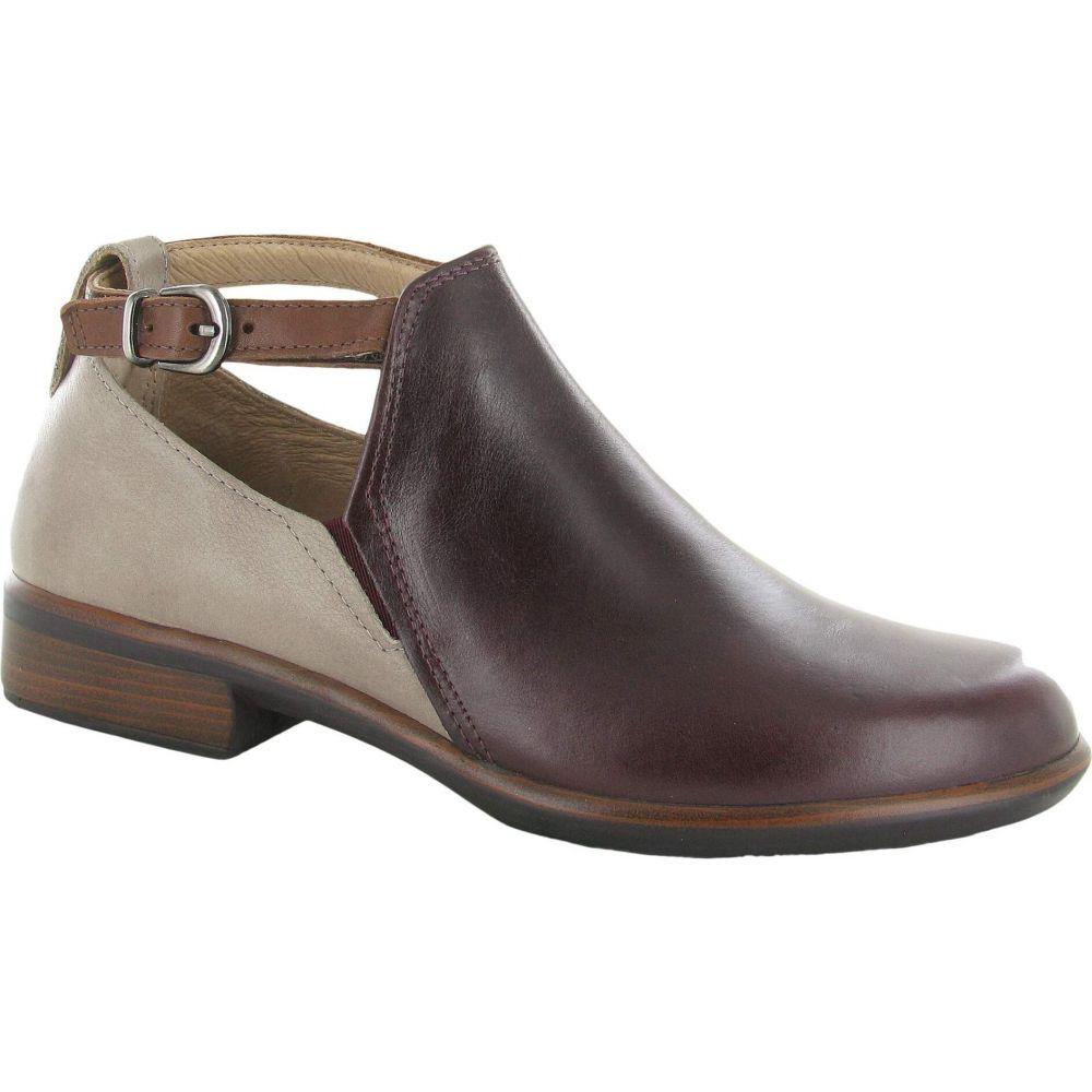 レディース Stone Chestnut ブーツ Nubuck/Soft Leather/Soft シューズ・靴【Kamsin】Bordeaux Leather ナオト Naot