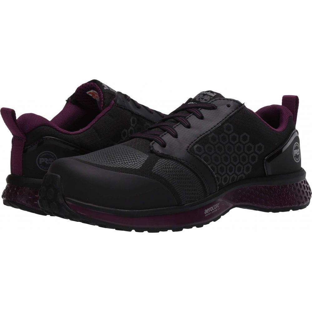 ティンバーランド Timberland PRO レディース スニーカー シューズ・靴【Reaxion Composite Safety Toe】Black/Purple