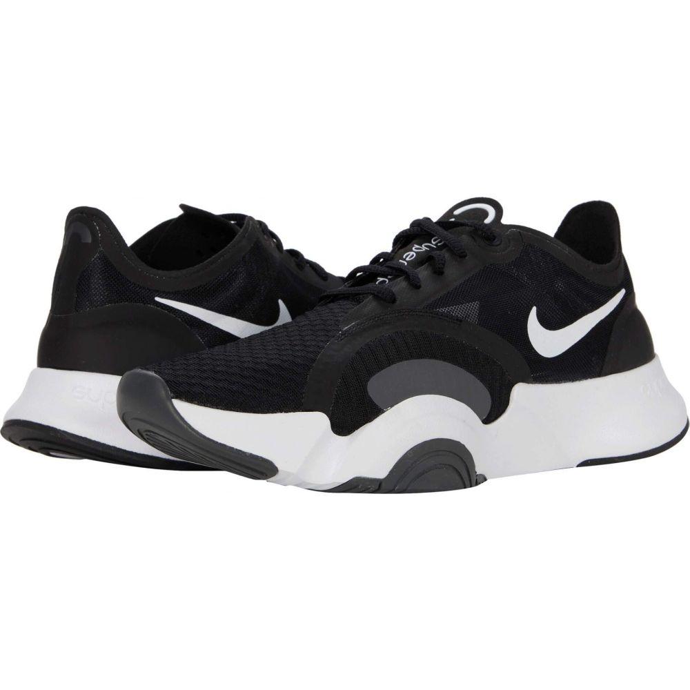 ナイキ Nike レディース スニーカー シューズ・靴【SuperRep Go】White/Black/Dark Smoke Grey