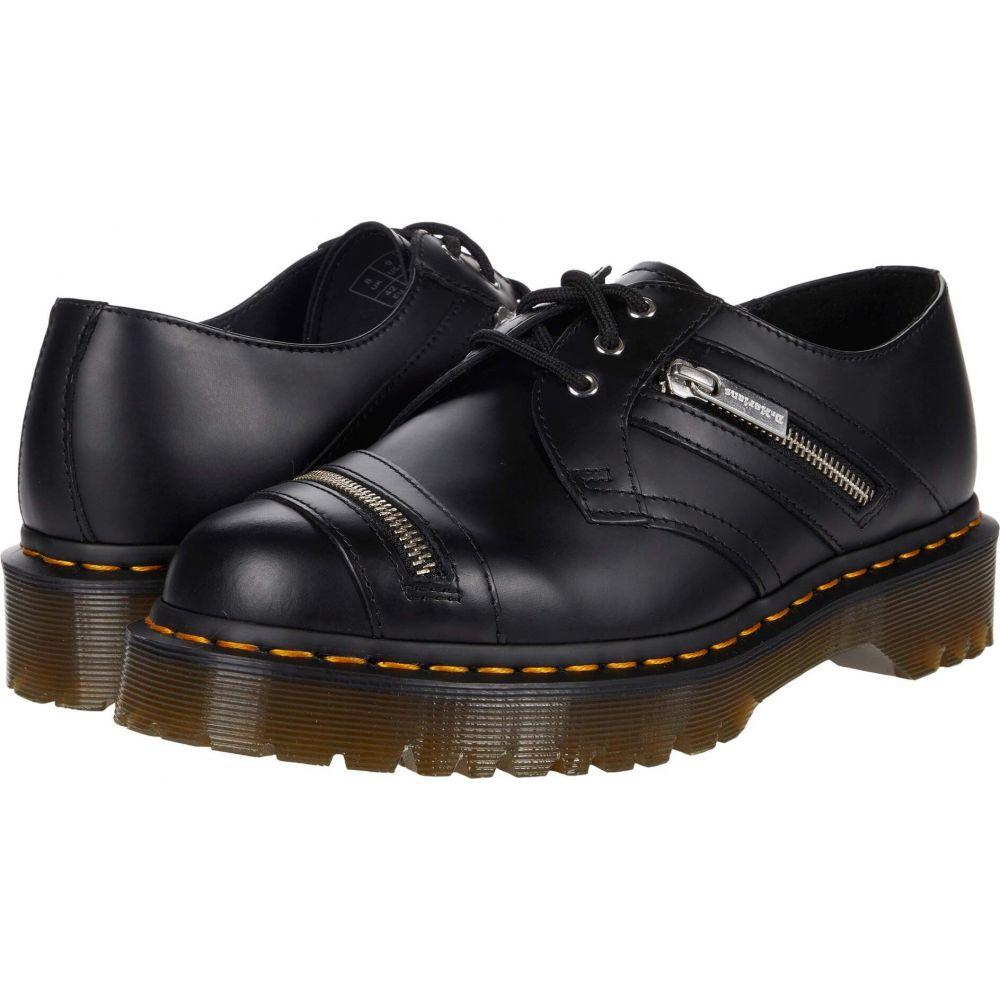 ドクターマーチン Dr. Martens レディース ローファー・オックスフォード シューズ・靴【1461 Bex Zip】Black Smooth