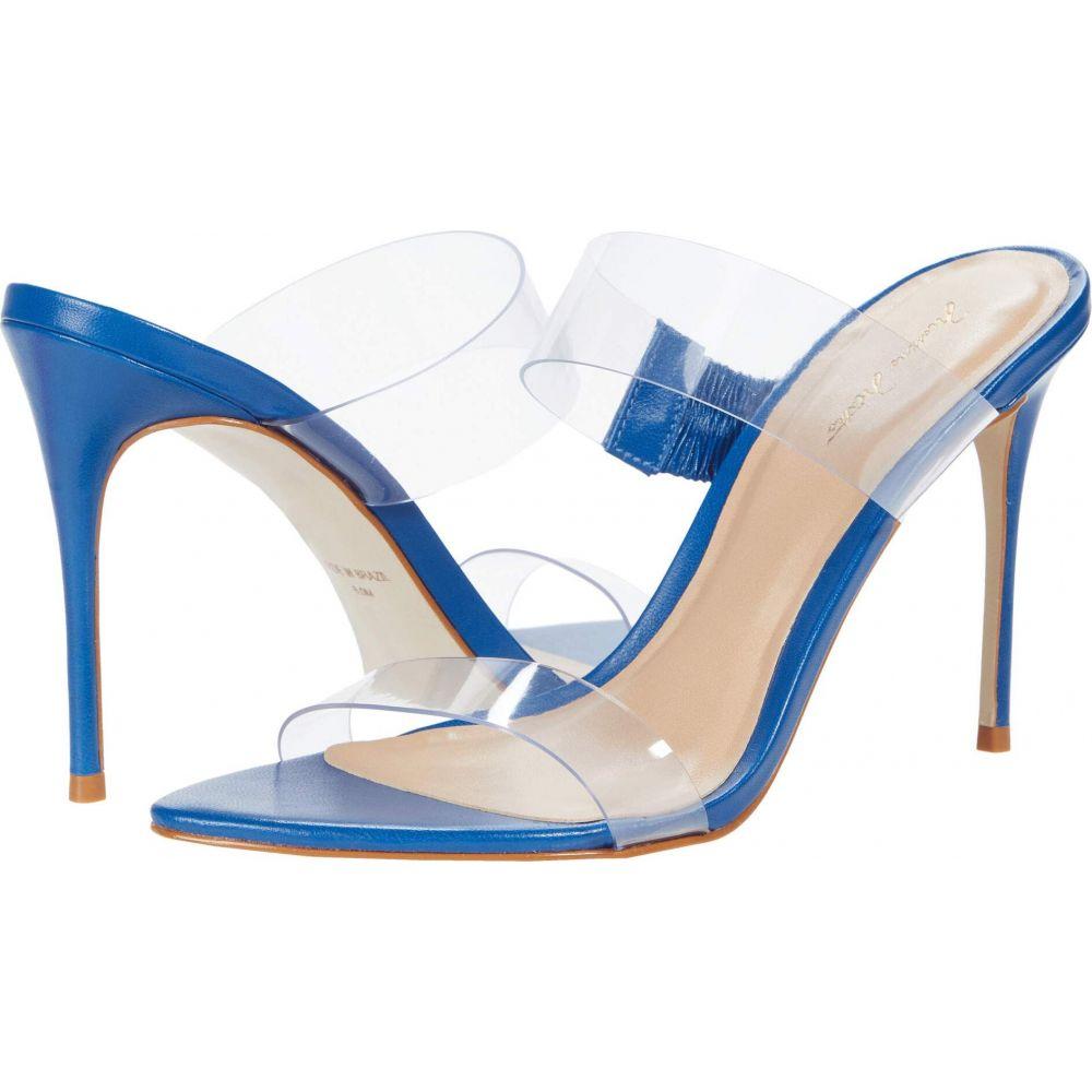 マッテオ マッシモ Massimo Matteo レディース サンダル・ミュール シューズ・靴【Vinyl Strapped Sandal】Blue