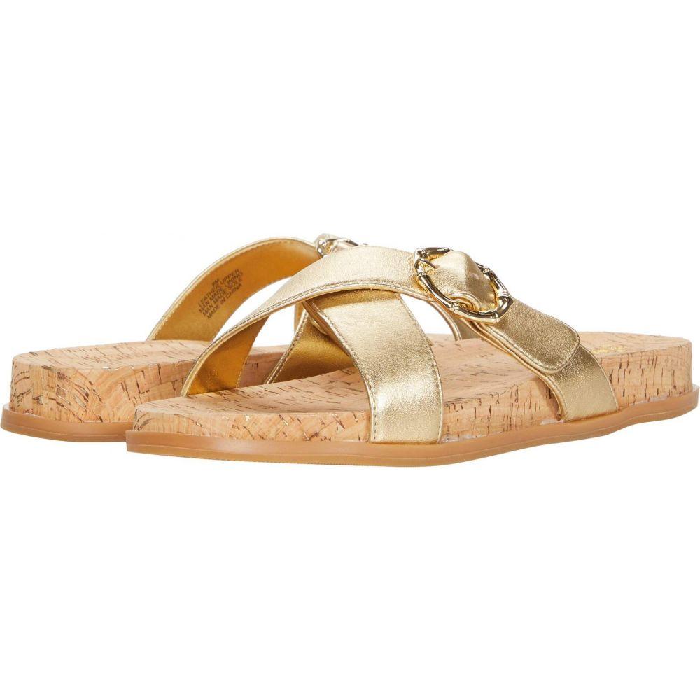 リリーピュリッツァー Lilly Pulitzer レディース サンダル・ミュール シューズ・靴【Bayshore Sandal】Gold Metallic