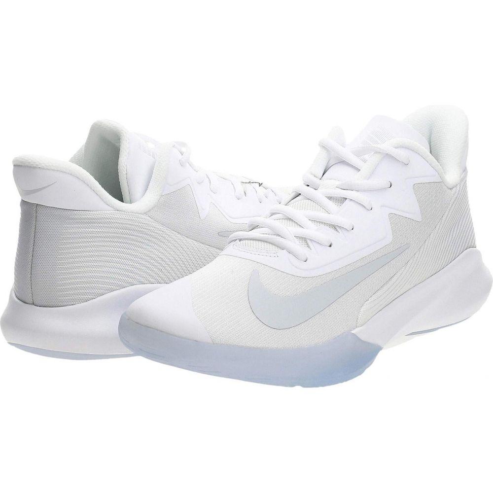 ナイキ Nike レディース バスケットボール シューズ・靴【Precision IV】White/Pure Platinum/Clear