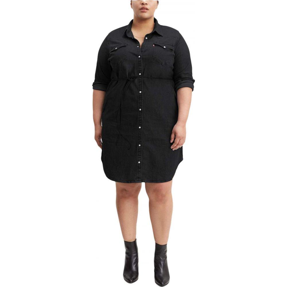 リーバイス Levi's Plus レディース ワンピース ワンピース・ドレス【Western Dress】Blackbook