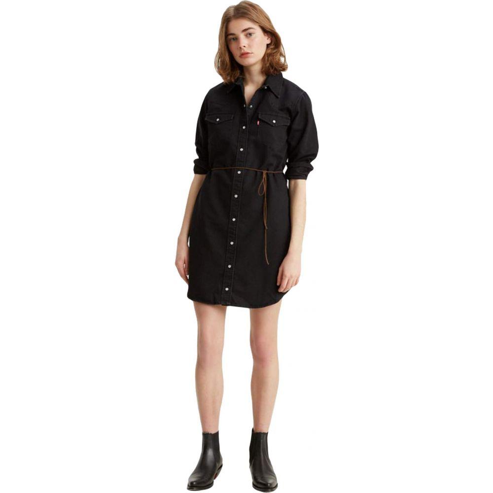 リーバイス Levi's Womens レディース ワンピース ワンピース・ドレス【The Ultimate Western Dress】Black Book