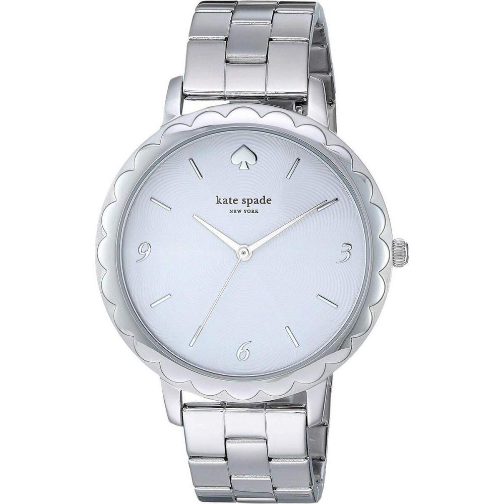 ケイト スペード Kate Spade New York レディース 腕時計 【Metro - KSW1493】Silver
