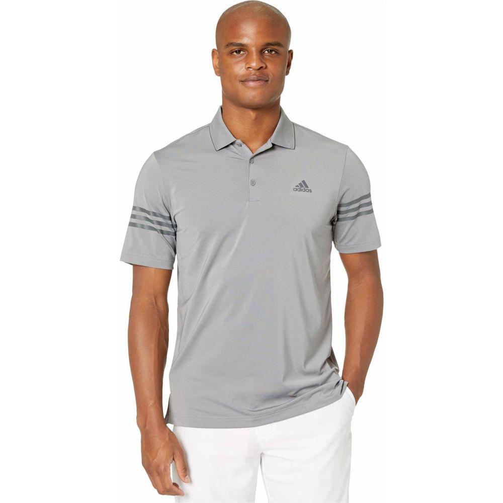 アディダス adidas Golf メンズ ポロシャツ トップス【Ultimate365 Blocked Polo Shirt】Grey Three/Grey Five