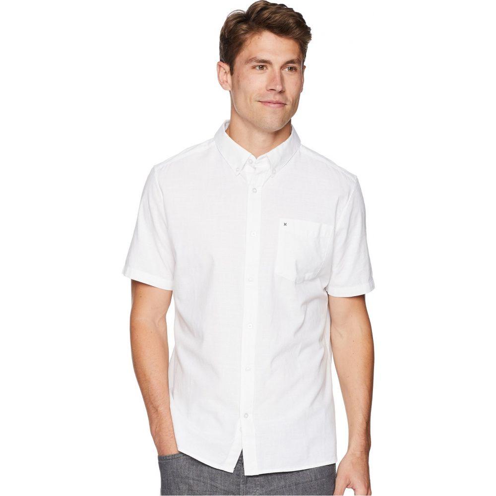 ハーレー Hurley メンズ 半袖シャツ トップス【One & Only 2.0 Short Sleeve Woven】White