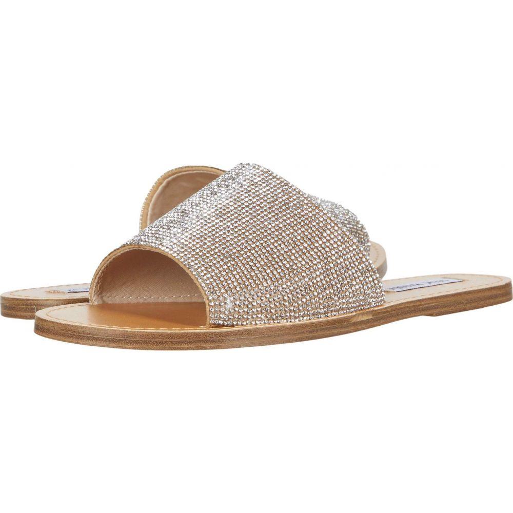 スティーブ マデン Steve Madden レディース サンダル・ミュール フラット シューズ・靴【Grace-R Flat Sandal】Rhinestone