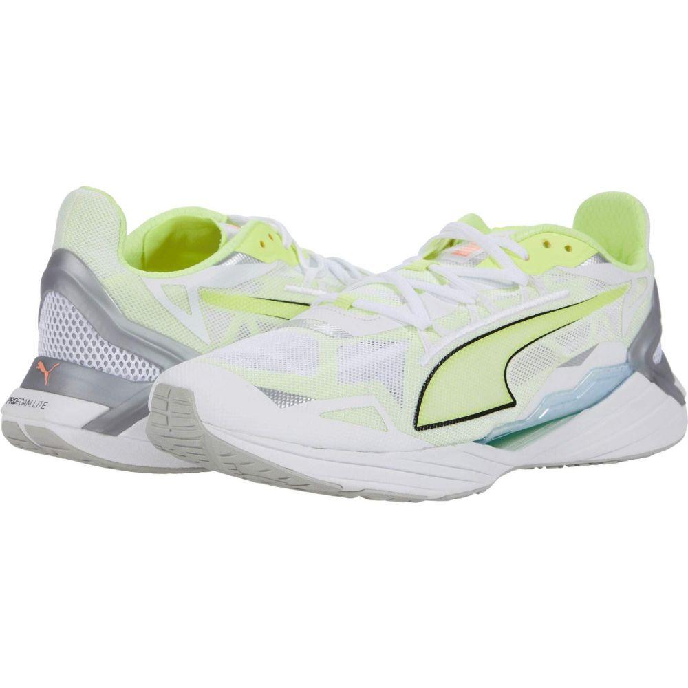 プーマ PUMA メンズ ランニング・ウォーキング シューズ・靴【UltraRide】Puma White/Fizzy Yellow