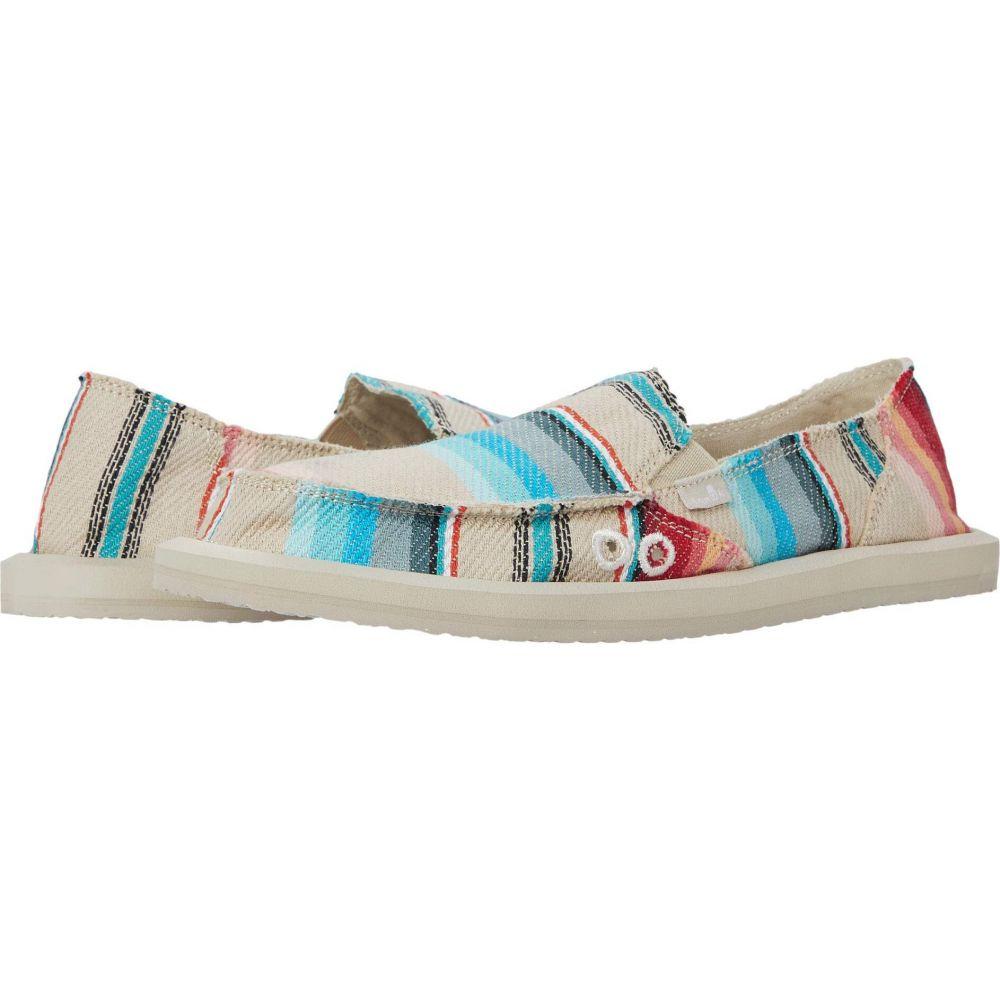 サヌーク Sanuk レディース シューズ・靴 【Donna Blanket】White Blanket