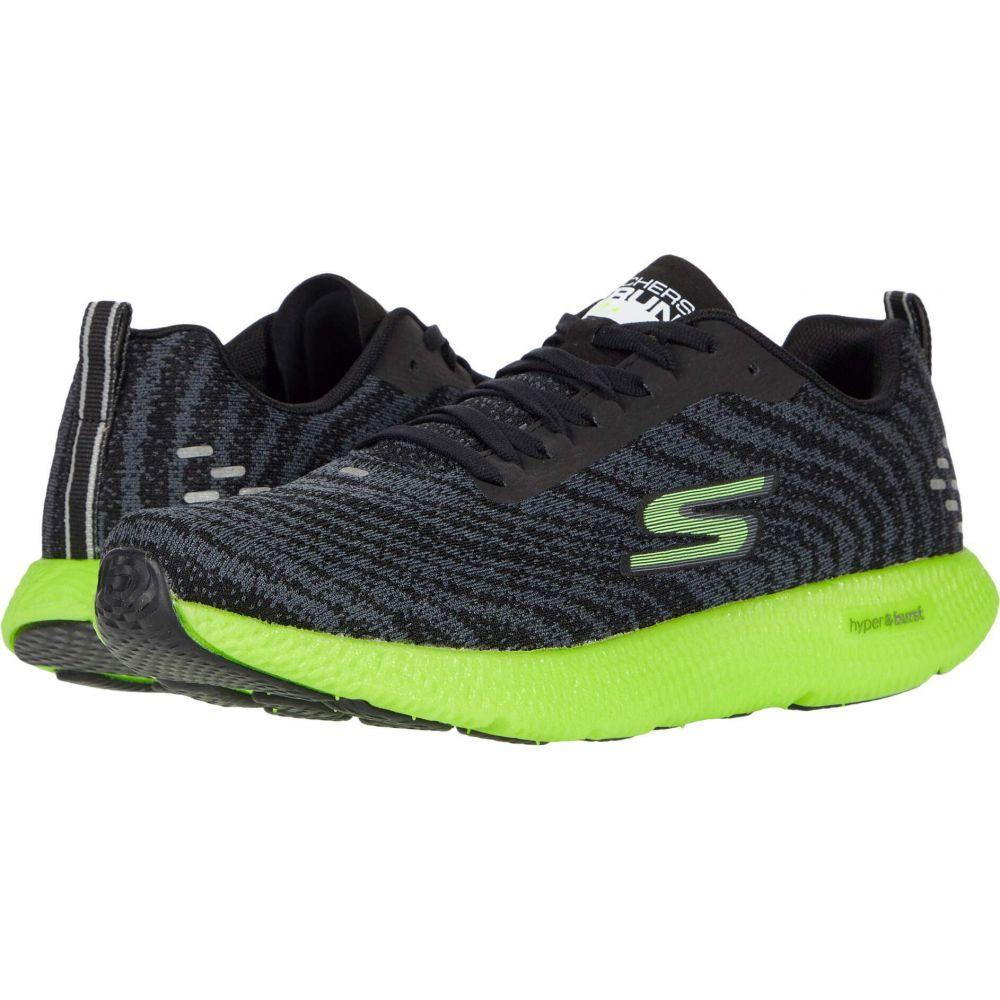 スケッチャーズ SKECHERS メンズ ランニング・ウォーキング シューズ・靴【Go Run 7+】Black/Lime