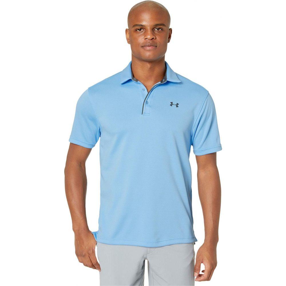 アンダーアーマー Under Armour Golf メンズ ポロシャツ トップス【Tech Polo】Carolina Blue/Pitch Gray