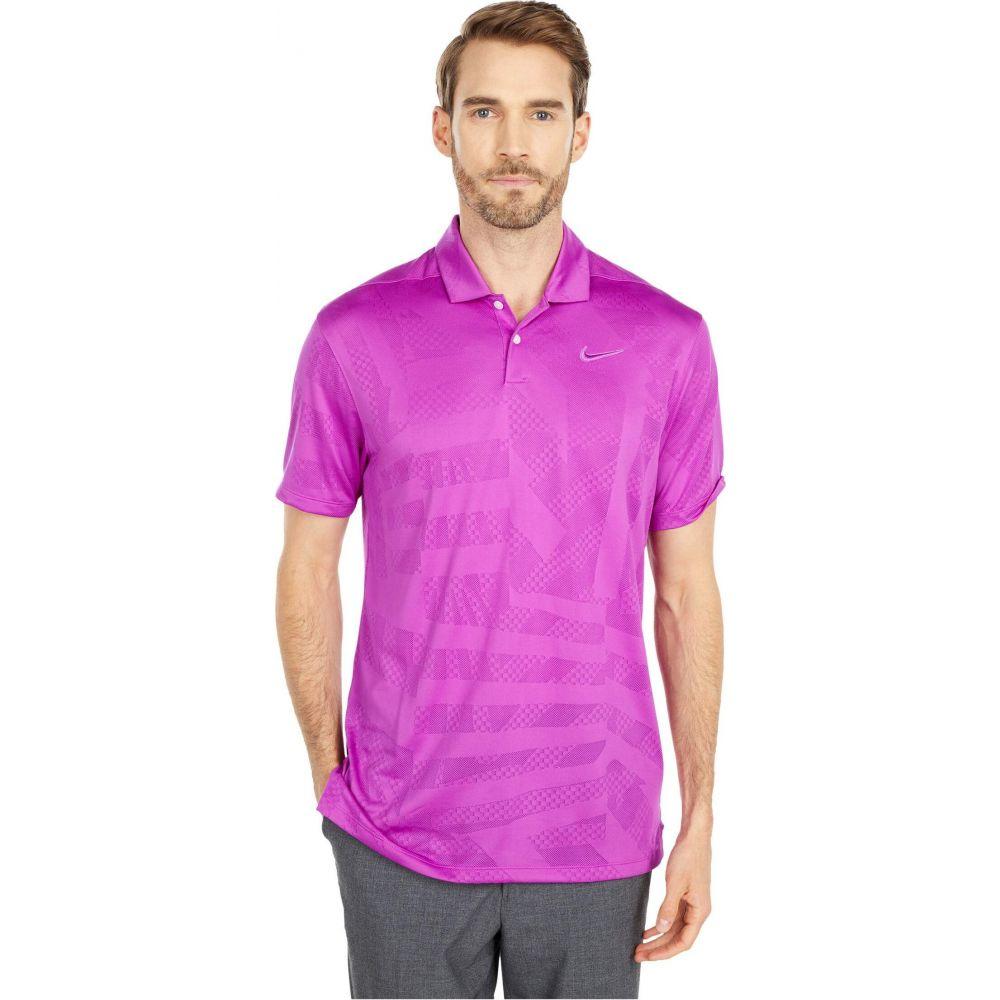 ナイキ Nike Golf メンズ ポロシャツ トップス【Dri-FIT(TM) Vapor Polo Jacquard】Vivid Purple/Vivid Purple