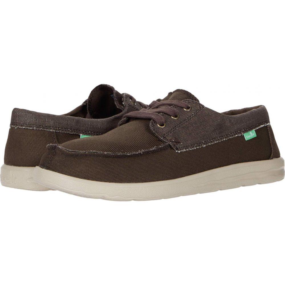 サヌーク Sanuk メンズ シューズ・靴 【Skuner Lite】Brown
