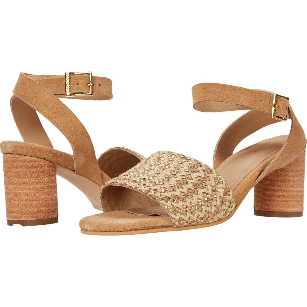 カーナス KAANAS レディース シューズ・靴 【Rosario Heel with Woven Braided Upper】Natural