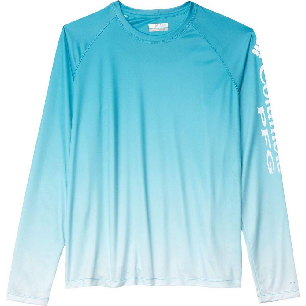 コロンビア Columbia レディース 長袖Tシャツ トップス【Super Tidal Tee Long Sleeve Shirt】Clear Water Gradient