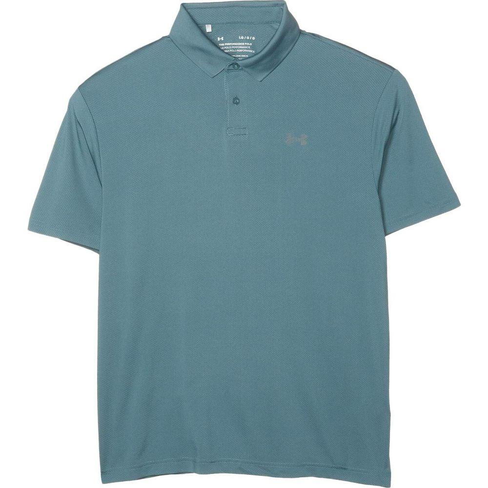 アンダーアーマー Under Armour Golf メンズ ポロシャツ トップス【Performance Polo 2.0】Lichen Blue/Pitch Gray