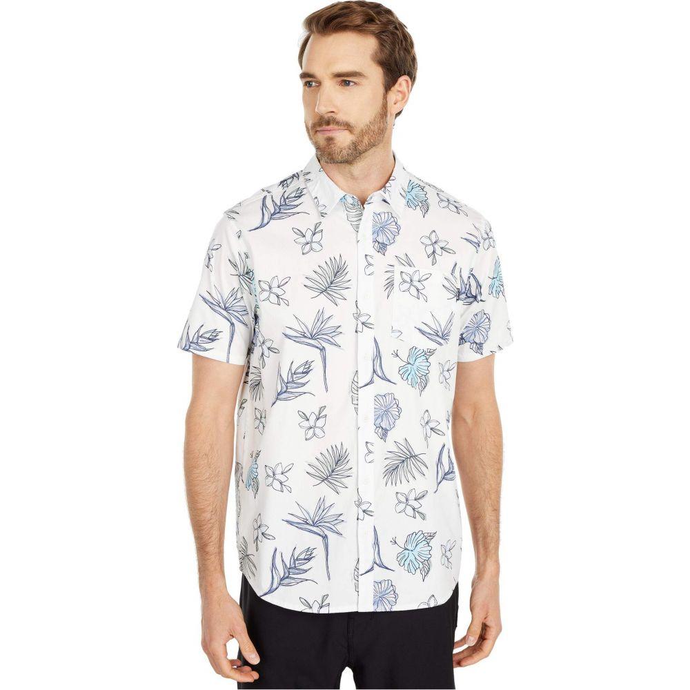 ハーレー Hurley メンズ 半袖シャツ トップス【Kona Stretch Floral Short Sleeve Shirt】Sail