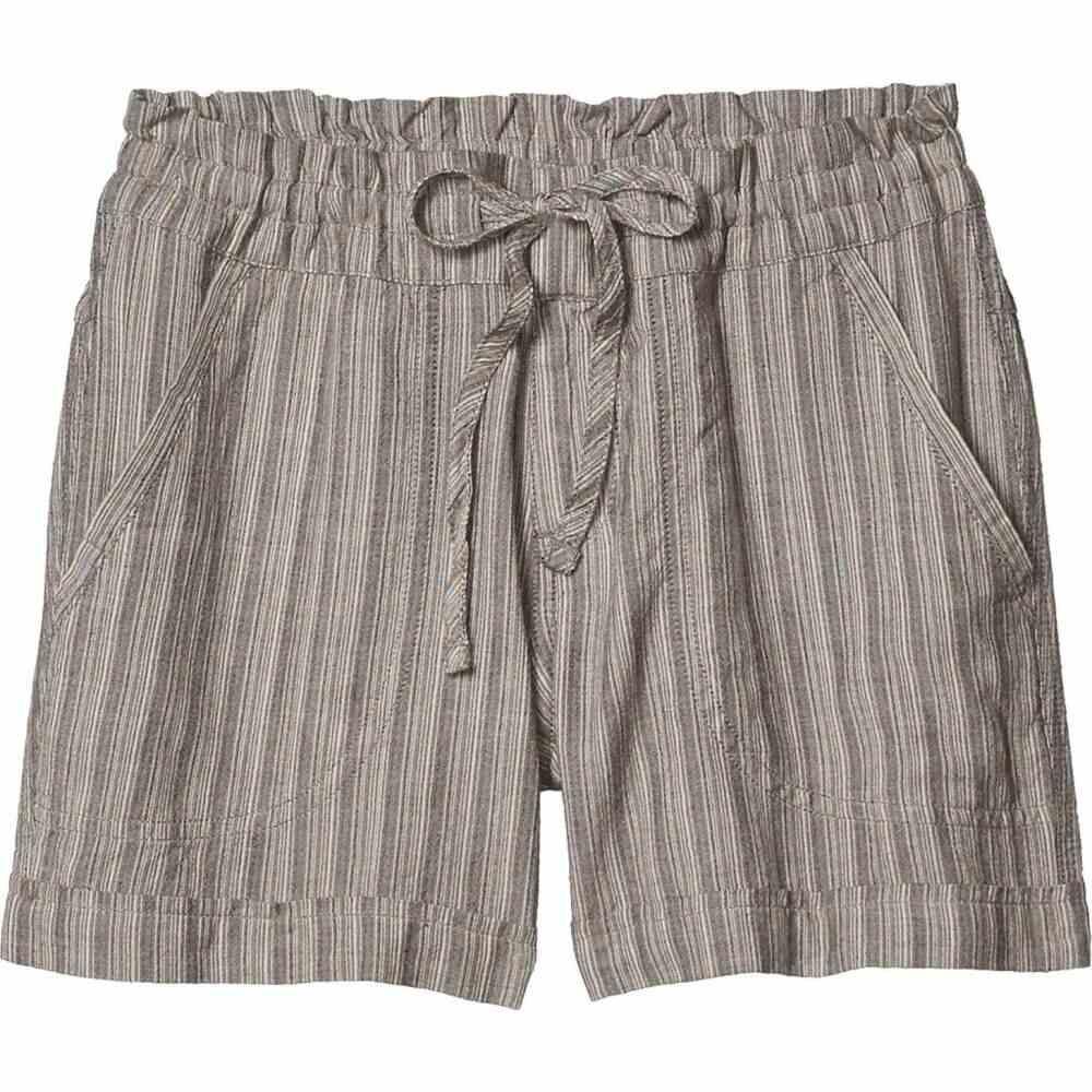 プラーナ Prana レディース ショートパンツ ボトムス・パンツ【Arlie Shorts】Chalkboard Stripe