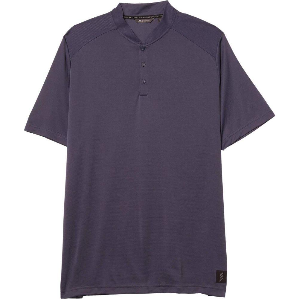 アディダス adidas Golf メンズ ポロシャツ トップス【Adicross No Show Polo Shirt】Midnight Grey
