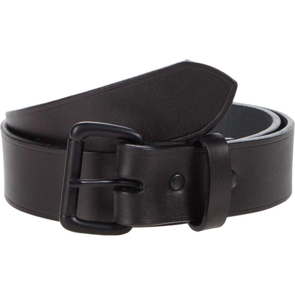 フィルソン Filson メンズ ベルト 【1-1/2' Leather Belt】Black/Black