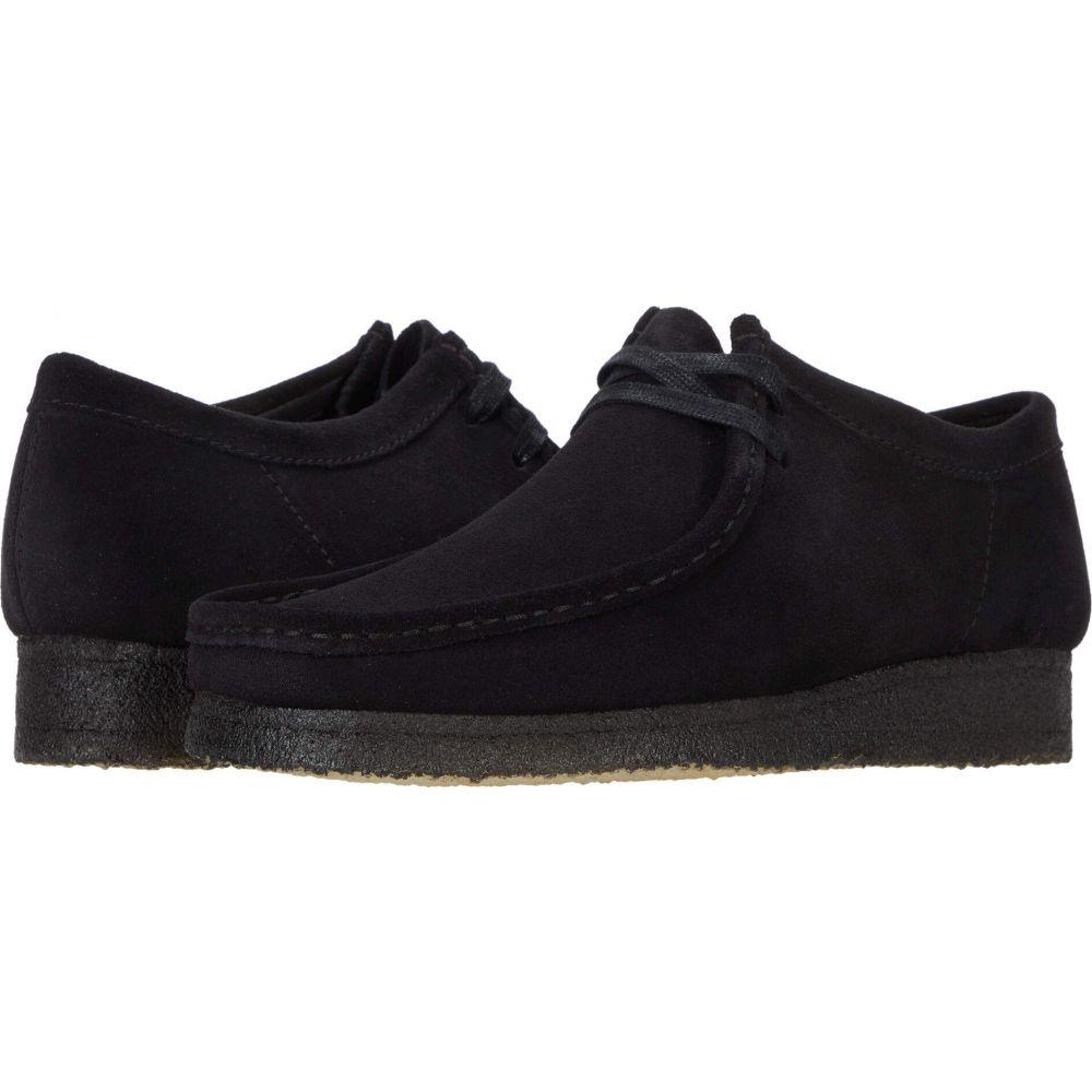 クラークス Clarks メンズ シューズ・靴 【Wallabee】Black Suede