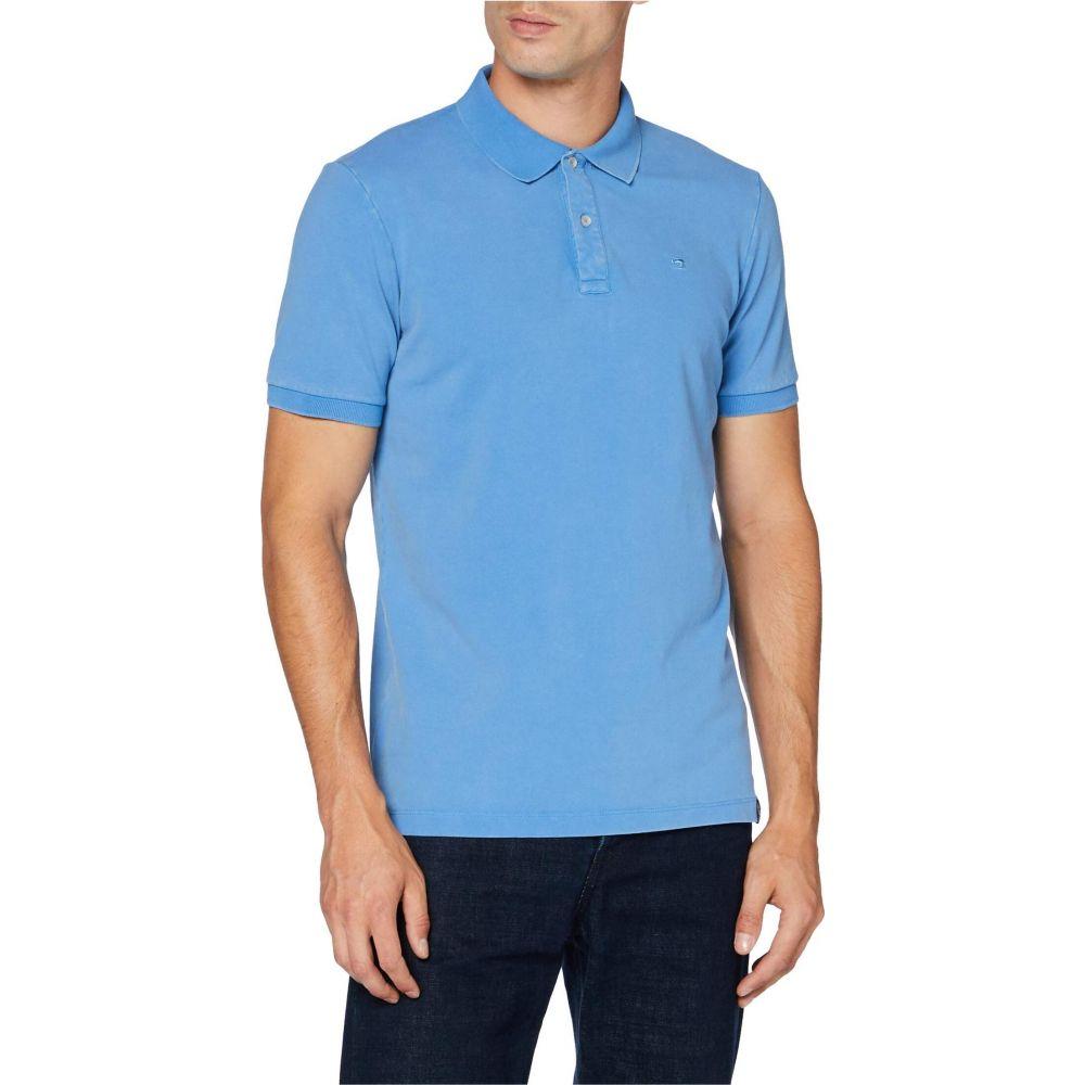 スコッチ&ソーダ Scotch & Soda メンズ ポロシャツ トップス【Garment Dyed Stretch Polo】Infinite Blue