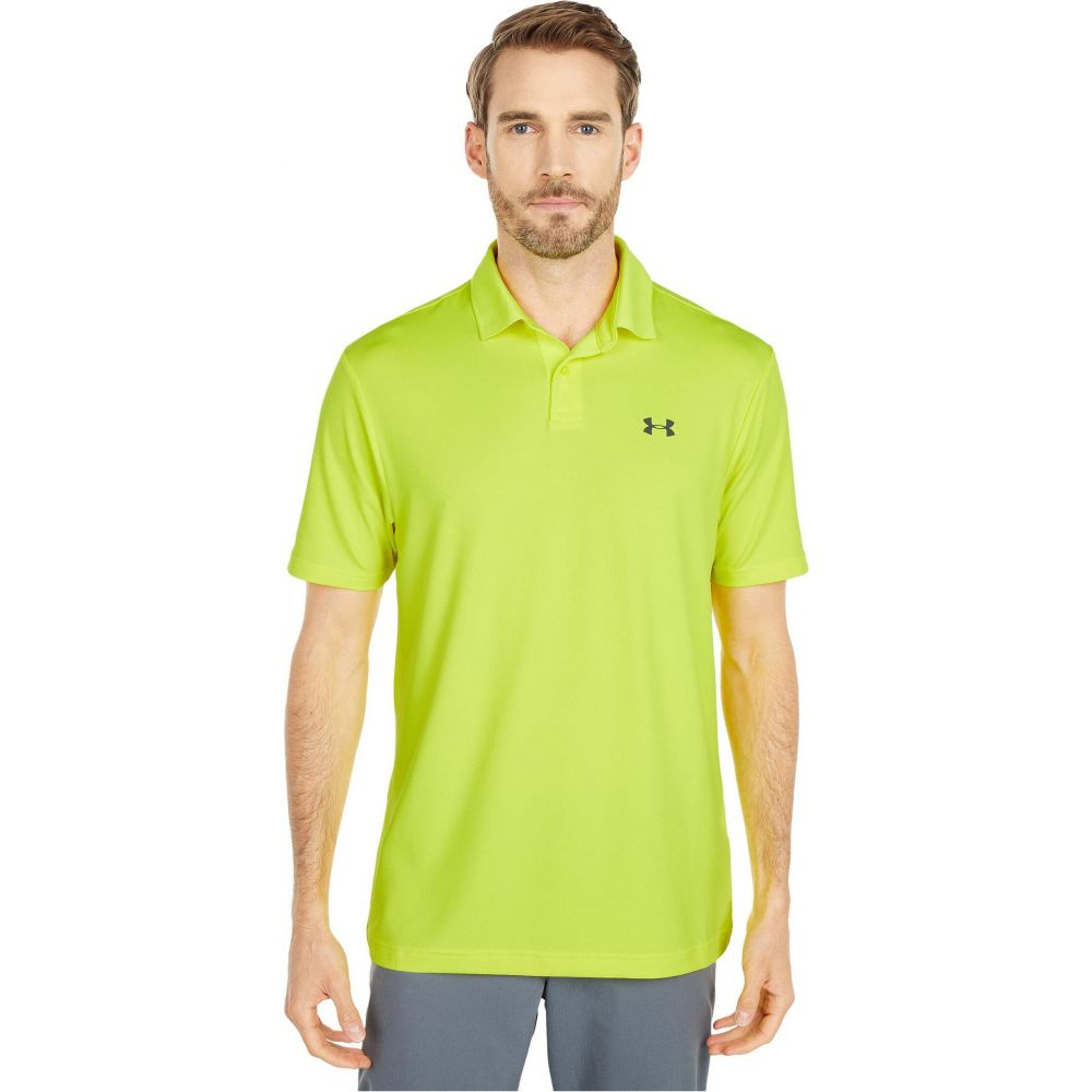 アンダーアーマー Under Armour Golf メンズ ポロシャツ トップス【Performance Polo 2.0】Yellow Ray/Pitch Gray