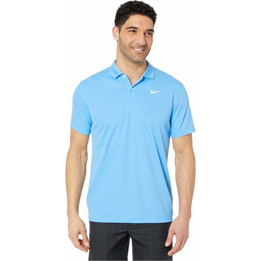 ナイキ Nike Golf メンズ ポロシャツ トップス【Dry Victory Polo Solid】University Blue/White