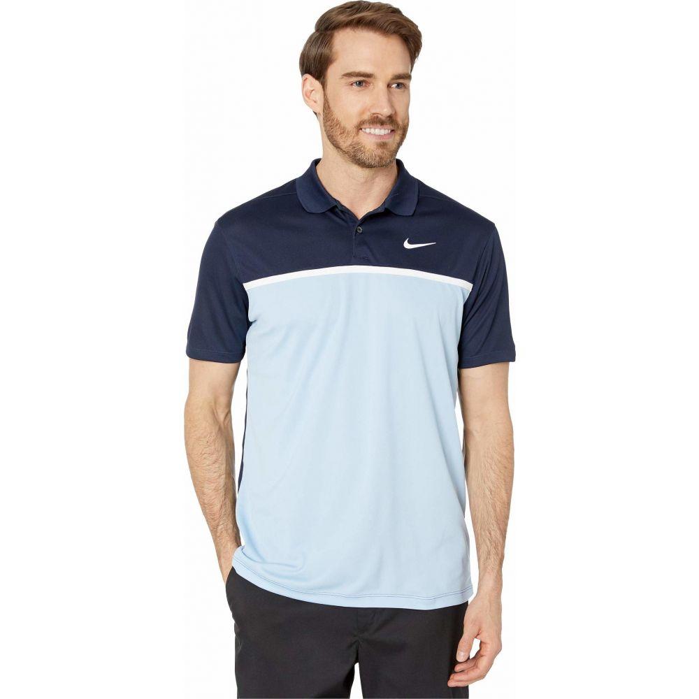 ナイキ Nike Golf メンズ ポロシャツ トップス【Dry Victory Polo Solid】Sky Grey/White