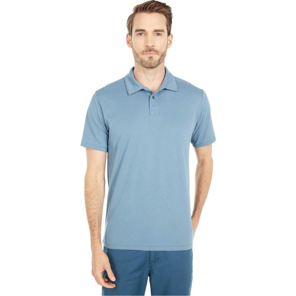 ハーレー Hurley メンズ ポロシャツ 半袖 トップス【Dri-Fit Harvey Solid Short Sleeve Polo】Ozone Blue