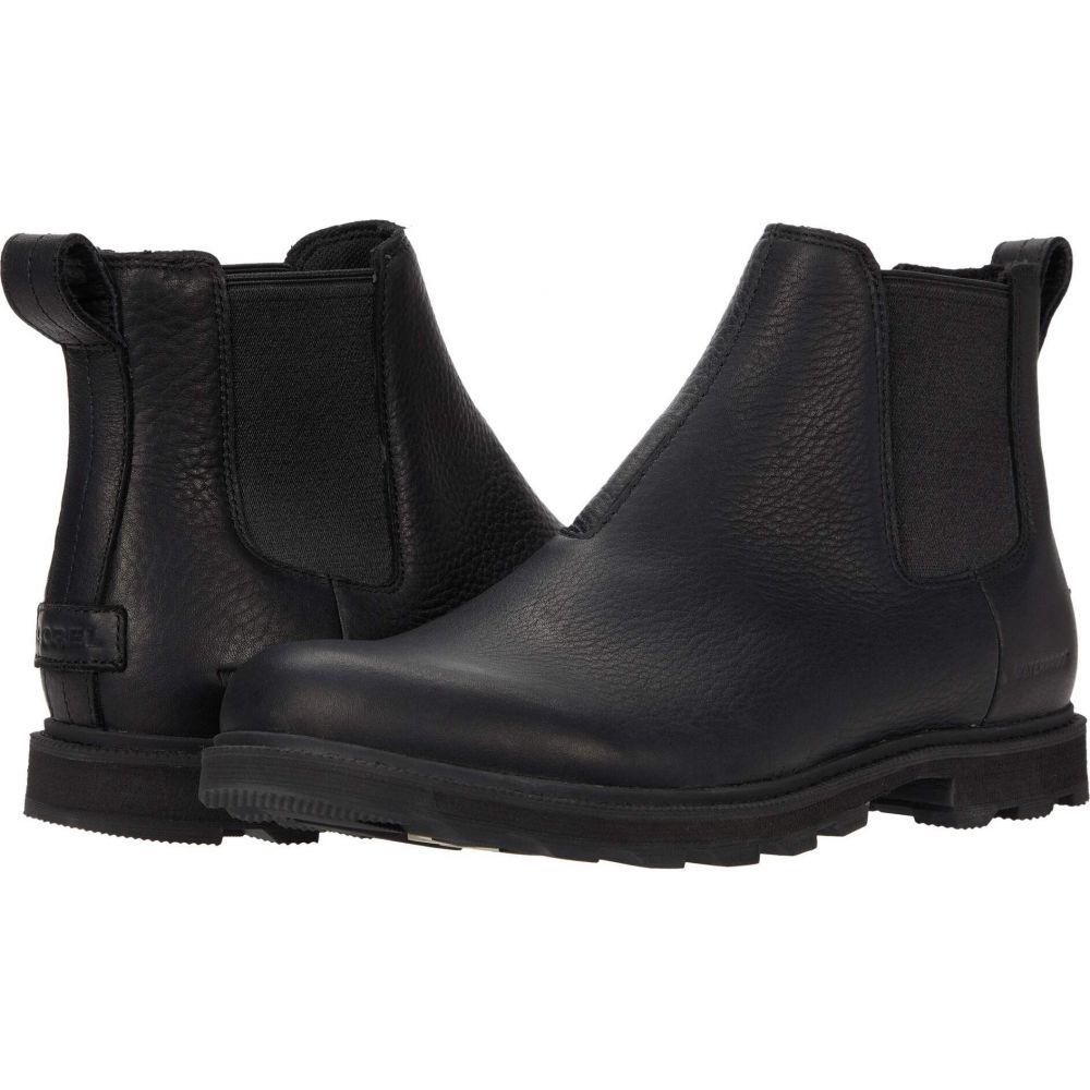 信頼 ソレル SOREL メンズ シューズ・靴 【Madson(TM) II Chelsea Waterproof】Black, 大型観葉植物と造花の専門店Gstyle 951c7e93