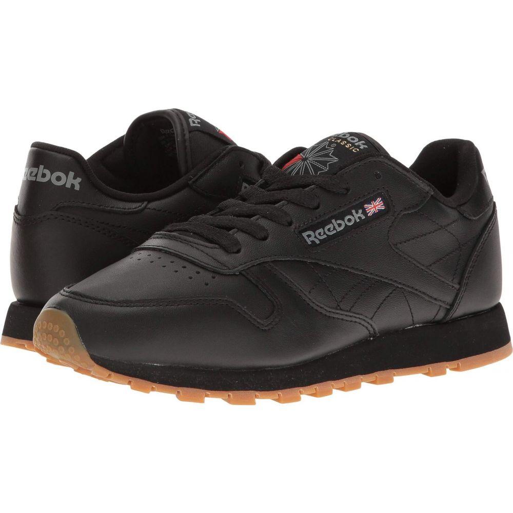 高価値 リーボック レディース シューズ 靴 評判 Black Gum サイズ交換無料 Reebok Classic Leather Lifestyle