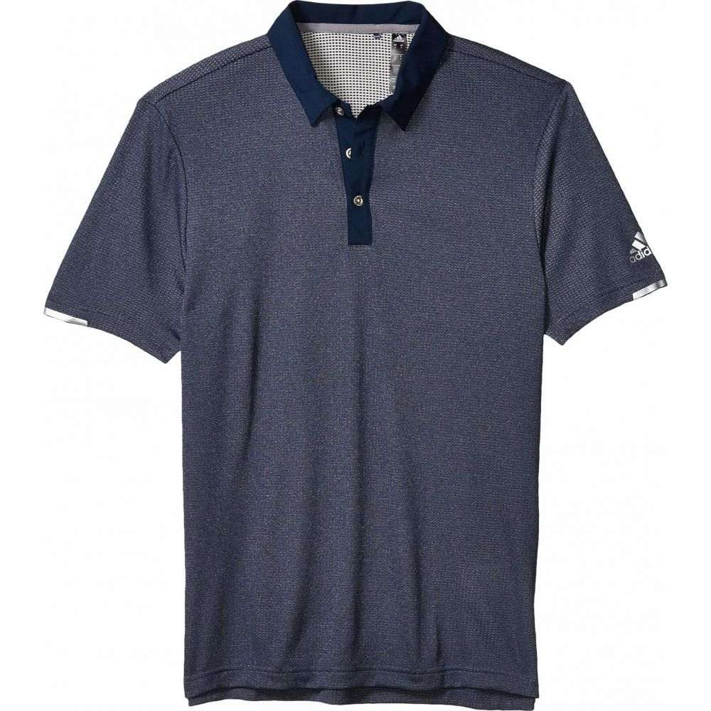 アディダス adidas Golf メンズ ポロシャツ トップス【Heat.Rdy Base Polo Shirt】Collegiate Navy Melange