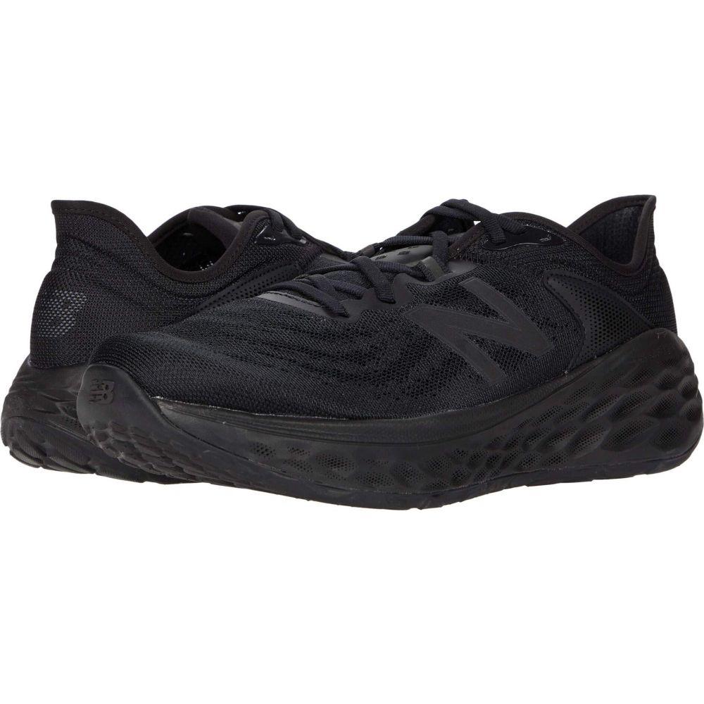 ニューバランス New Balance メンズ シューズ・靴 【Fresh Foam More v2】Black/Black