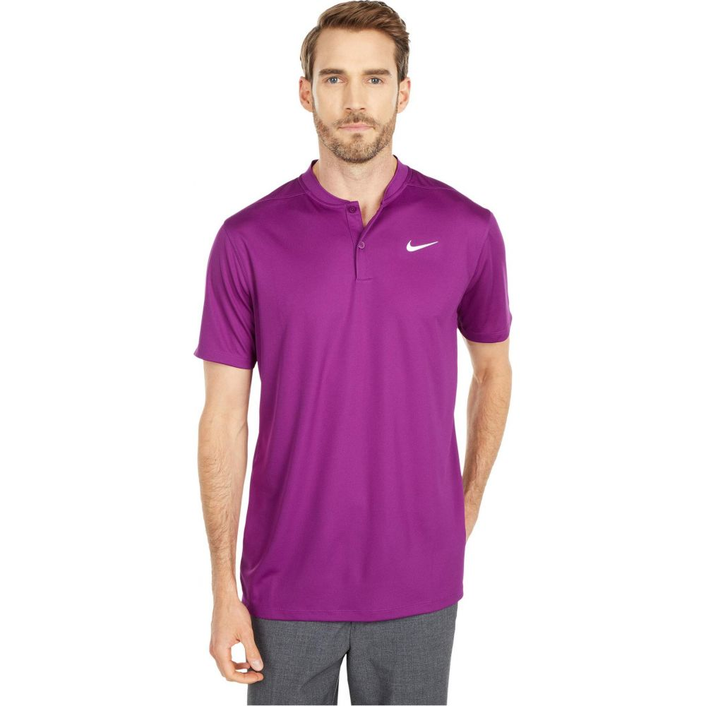 ナイキ Nike Golf メンズ ポロシャツ トップス【Dri-FIT(TM) Victory Blade Polo】Bright Grape/White