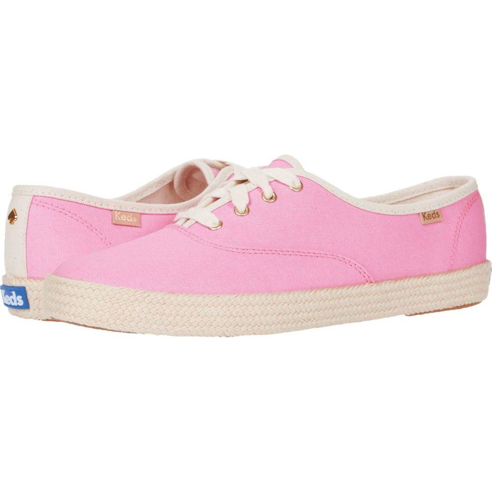ケイト スペード Keds x kate spade new york レディース シューズ・靴 【Champion Neon Canvas】Pink Canvas